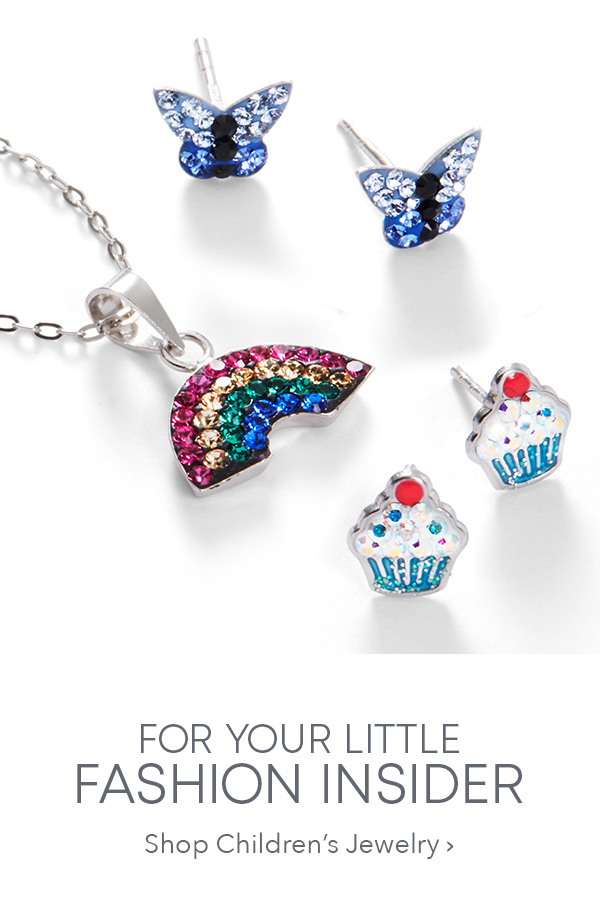 6e4b44f35 FOR YOUR LITTLE FASHION INSIDER. Shop Children's Jewelry